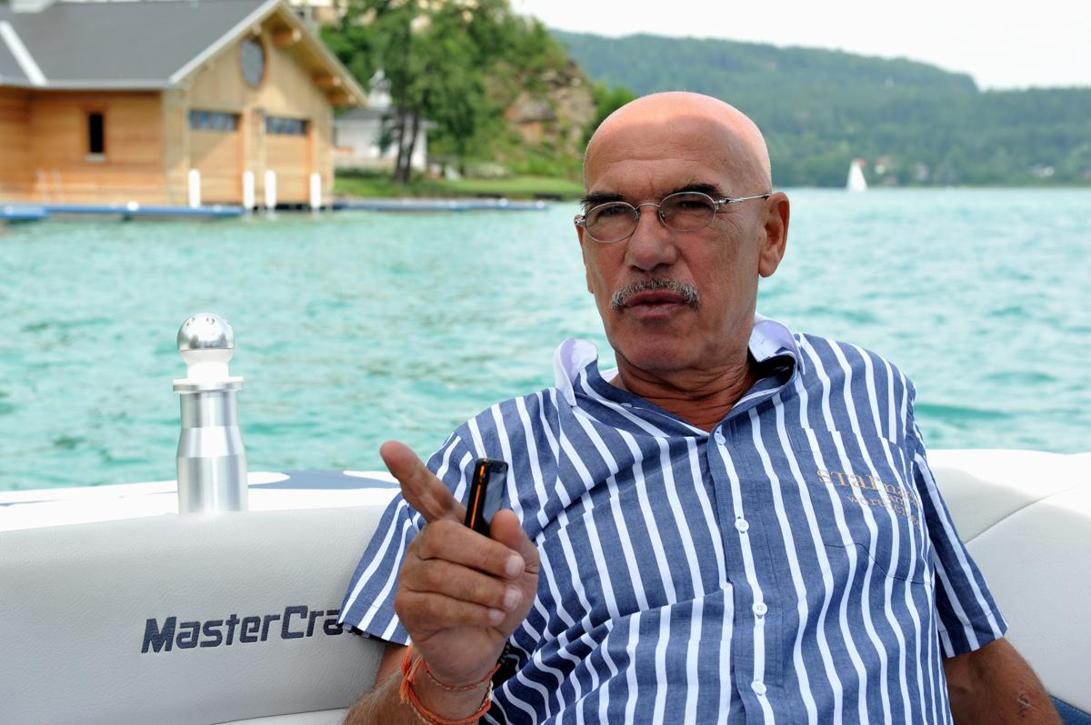 Otto Retzer Interview am schönen Wörthersee