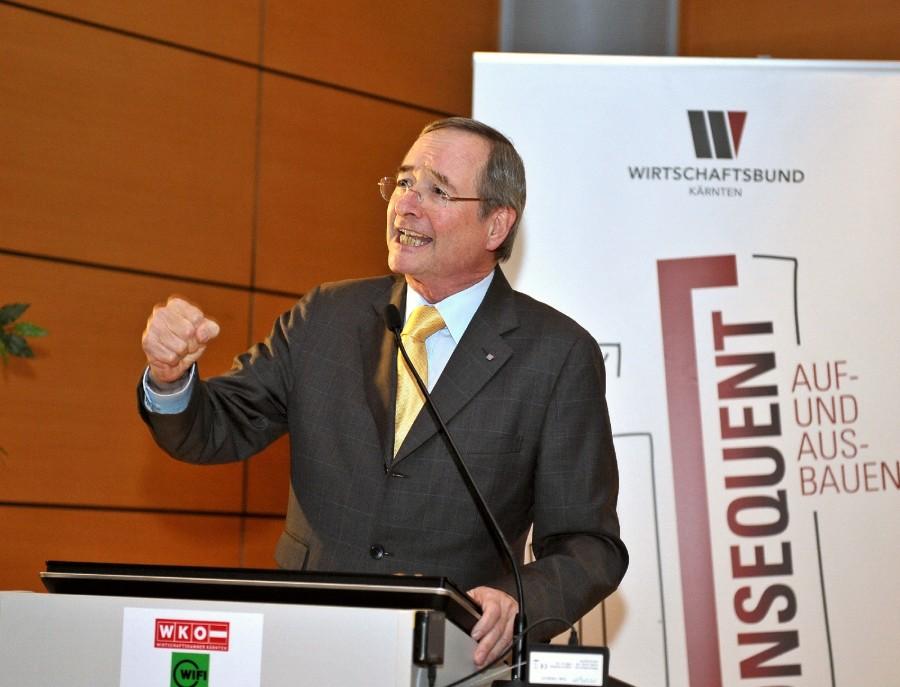 WKO Präsident Christoph Leitl