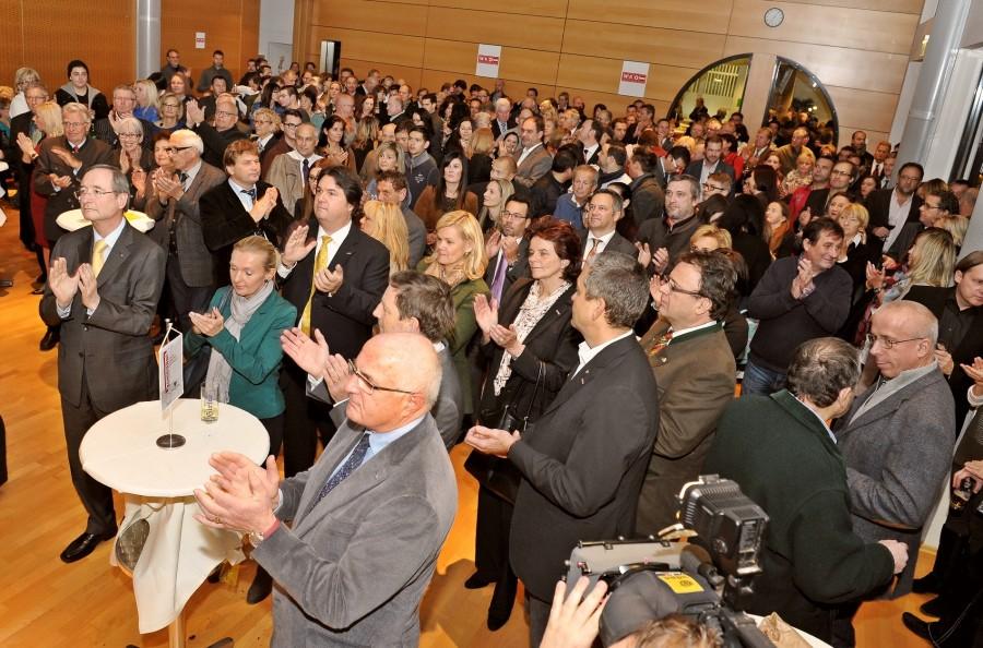 Über 550 UnternehmerInnen folgten der Einladung zum traditionellen Maronifest