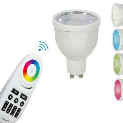 LED Spot mit Farbwechsel