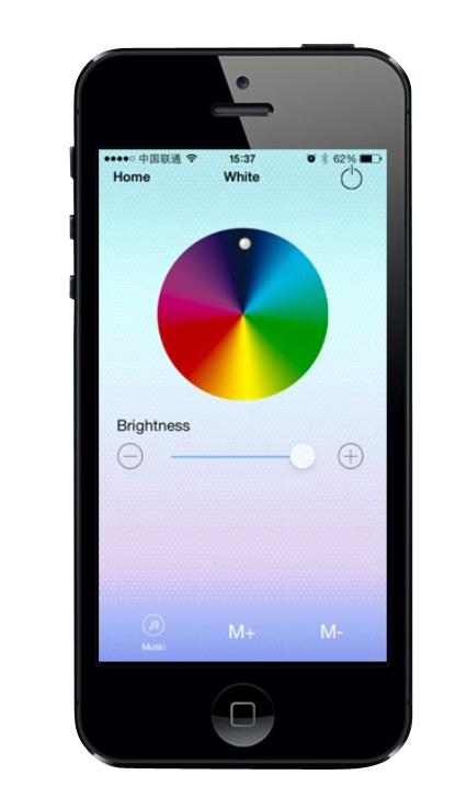 APP für RGBW Spot - RGBW GU10 LED COLOR Lampe mit 4 Watt
