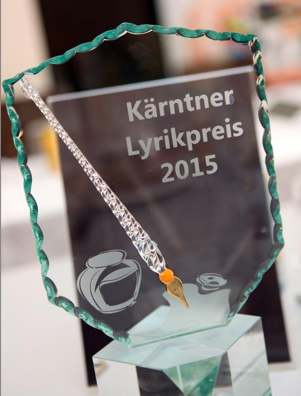 """Lyrikpreis 2015 - Kärntner Lyrikpreis 2015"""": Fixstern am Kulturhimmel"""