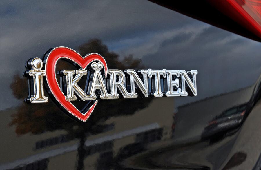 Autosticker Kärnten Logo neu