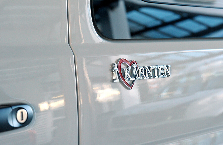 I Love Kärnten Autosticker www.iloveshop.at