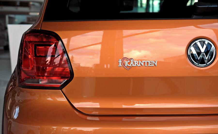 Autoaufkleber Logo Kärnten - Autoaufkleber I Love Kärnten im Kärntenshop