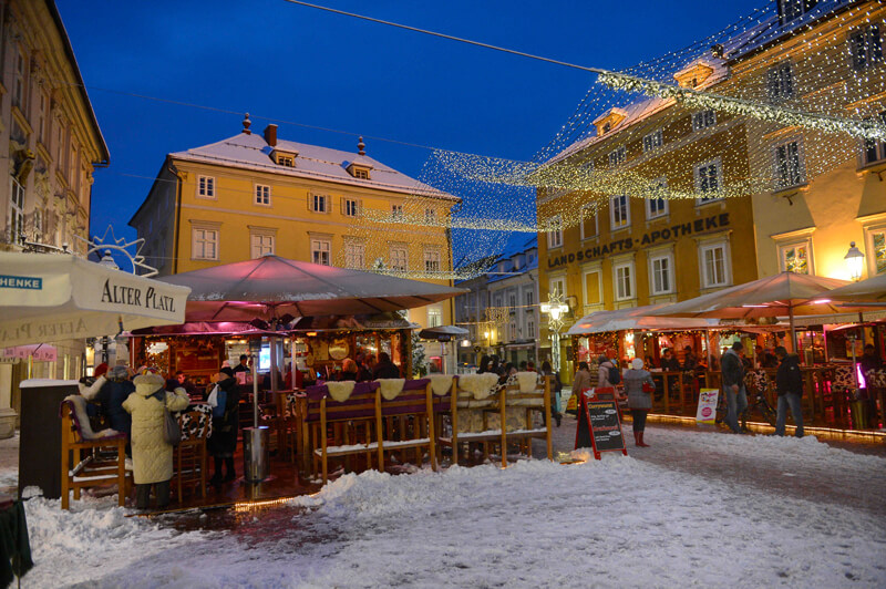 winterbilder klagenfurt
