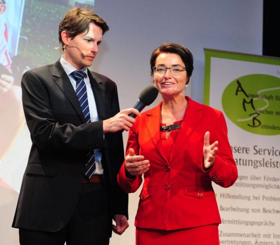 Thomas Cik Kleine Zeitung - 7. Landesenquete Gesundheitsvorsorge und Rehabilitation mit Dr. Beate Prettner