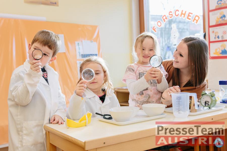 Kindergarten Klagenfurt Sonnenschein 20160125 092 - Erster Forscherkindergarten Österreichs mit Naturwissenschaften und Technik in Klagenfurt