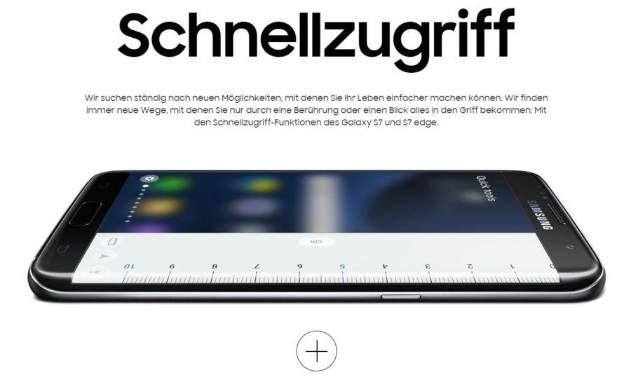 Quick Handy Samsung - Das neue Premium-Smartphone von Samsung S7