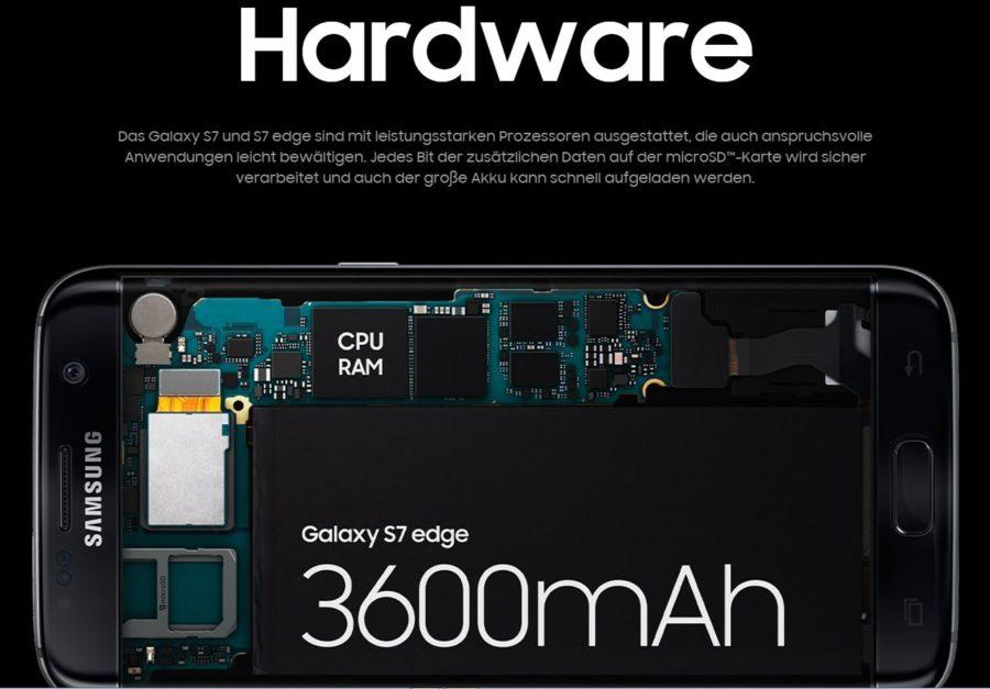 Samsung Hardware - Das neue Premium-Smartphone von Samsung S7