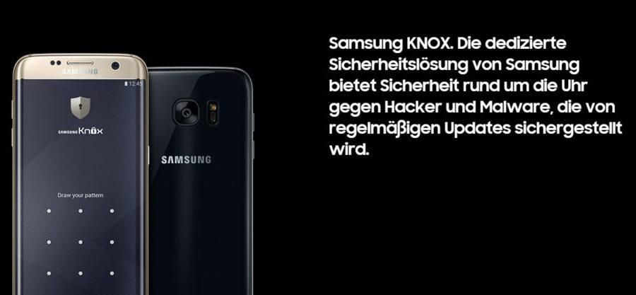 Samsung Knox - Das neue Premium-Smartphone von Samsung S7
