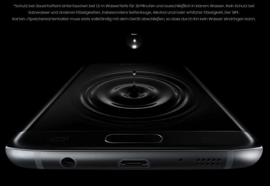 Samsung Wasser und staubgeschützt - Das neue Premium-Smartphone von Samsung S7