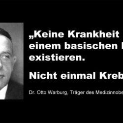 Dr Otto Warburg Krebs
