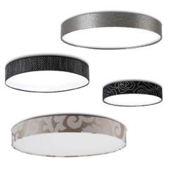 flache deckenlampen rund iLoveshop 250x250 - Designer Deckenleuchten für Wohnzimmer, Schlafzimmer, oder Hotels.
