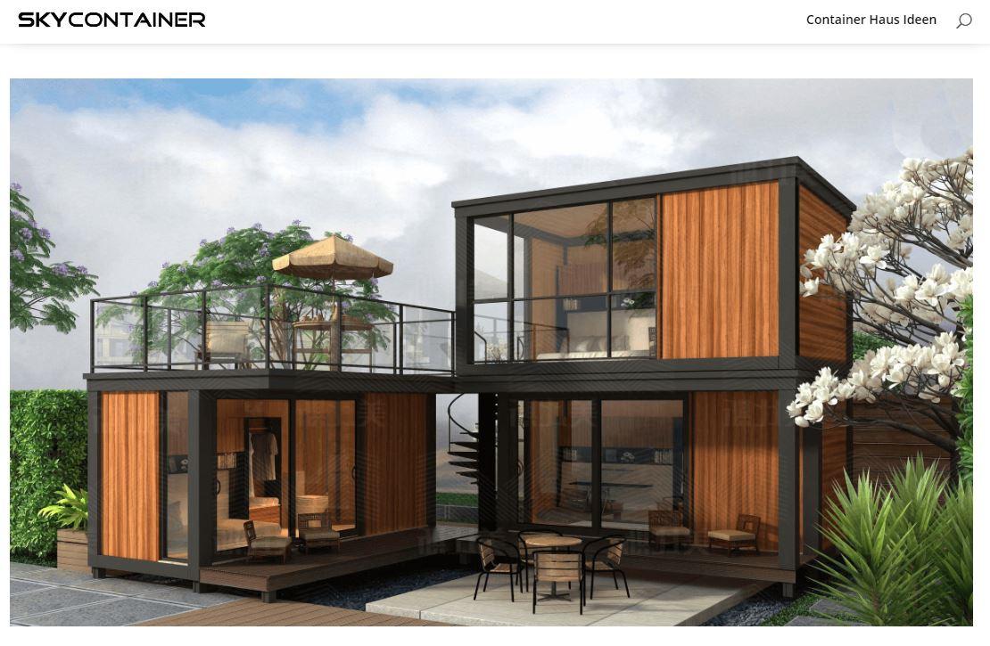 Containerhaus Holzhaus - 37.000 € PopUp House: Das DIY-Haus der Zukunft