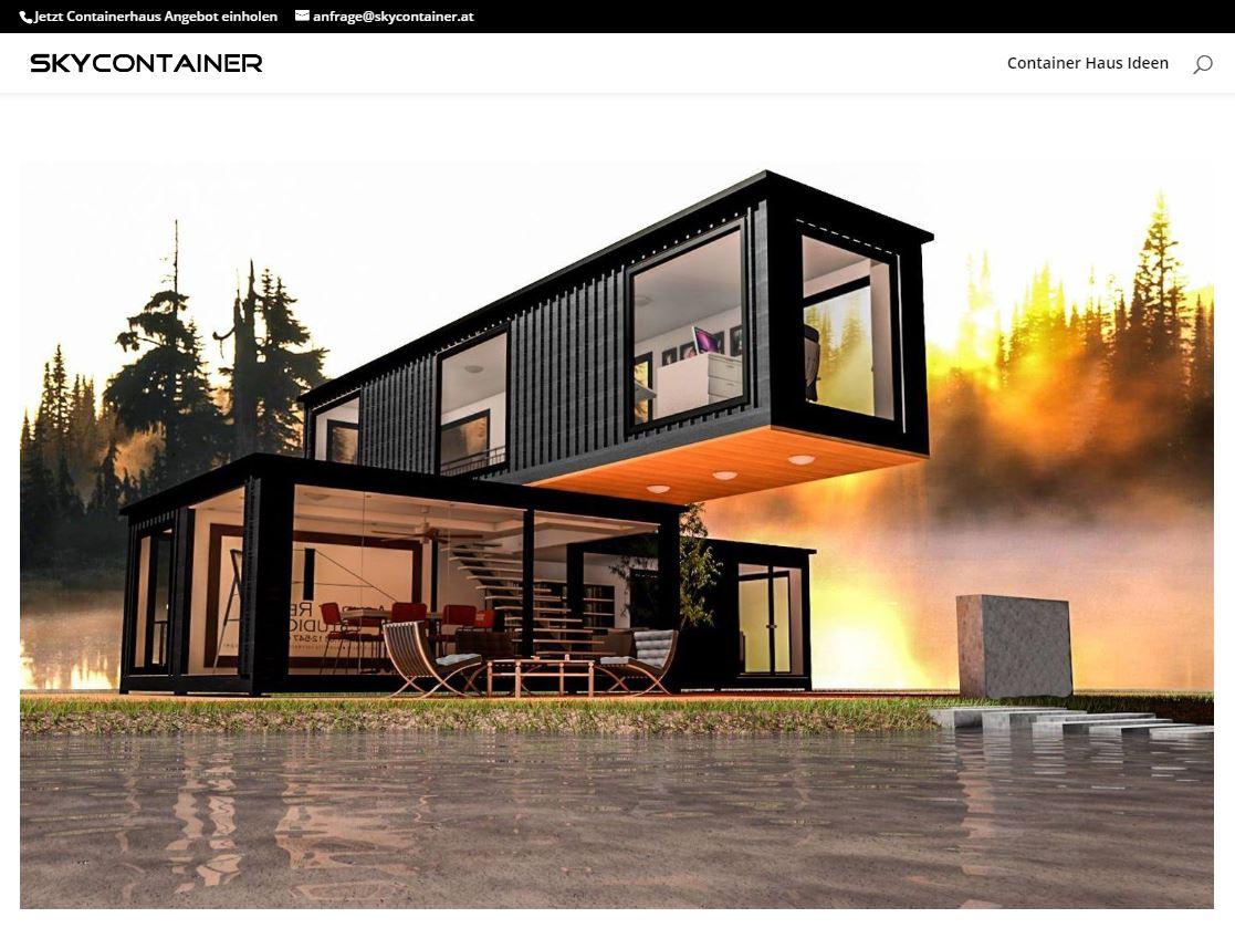 Luxus Containerhaus Mobile Homes - 37.000 € PopUp House: Das DIY-Haus der Zukunft