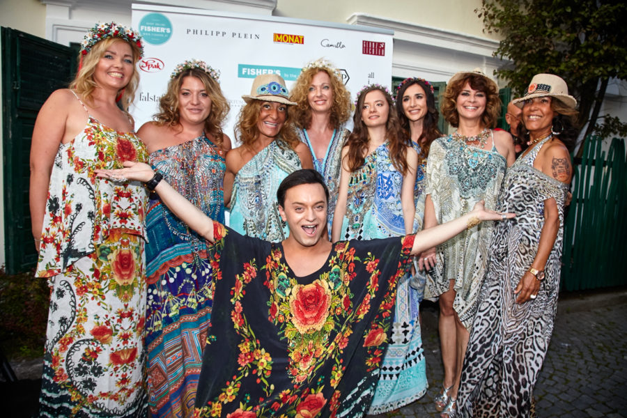 """Die Damen Models Glanzlichter - DAS WAR DER GIPSY SUMMER COCKTAIL """"FISHER´S BY THE SEA"""" IN VELDEN"""