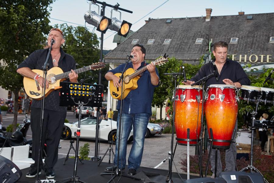 "Tony Wegas Band Glanzlichter - DAS WAR DER GIPSY SUMMER COCKTAIL ""FISHER´S BY THE SEA"" IN VELDEN"