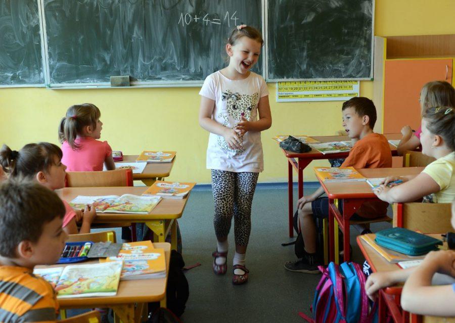 Kinder unterrichten