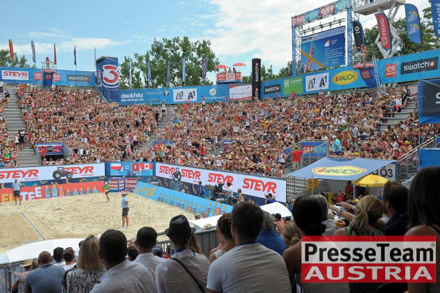 Beachvolleyball Jagerhofer - Die Beach Volleyball Weltmeisterschaften 2017 in Wien