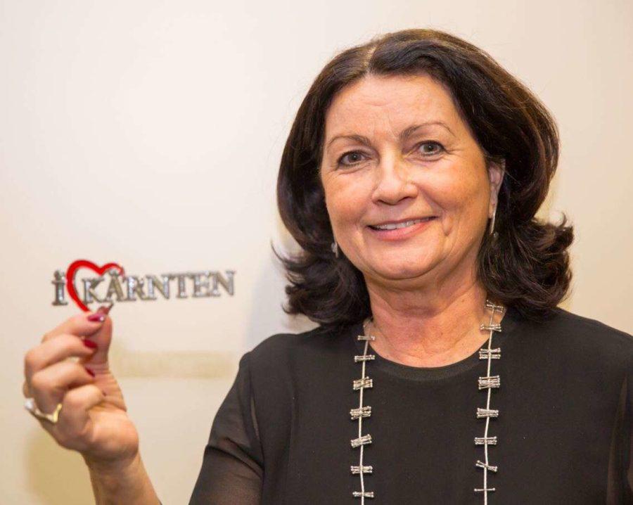 Elisabeth Scheucher Pichler - Kärnten Botschafterin Präsidentin Mag. Elisabeth Scheucher-Pichler
