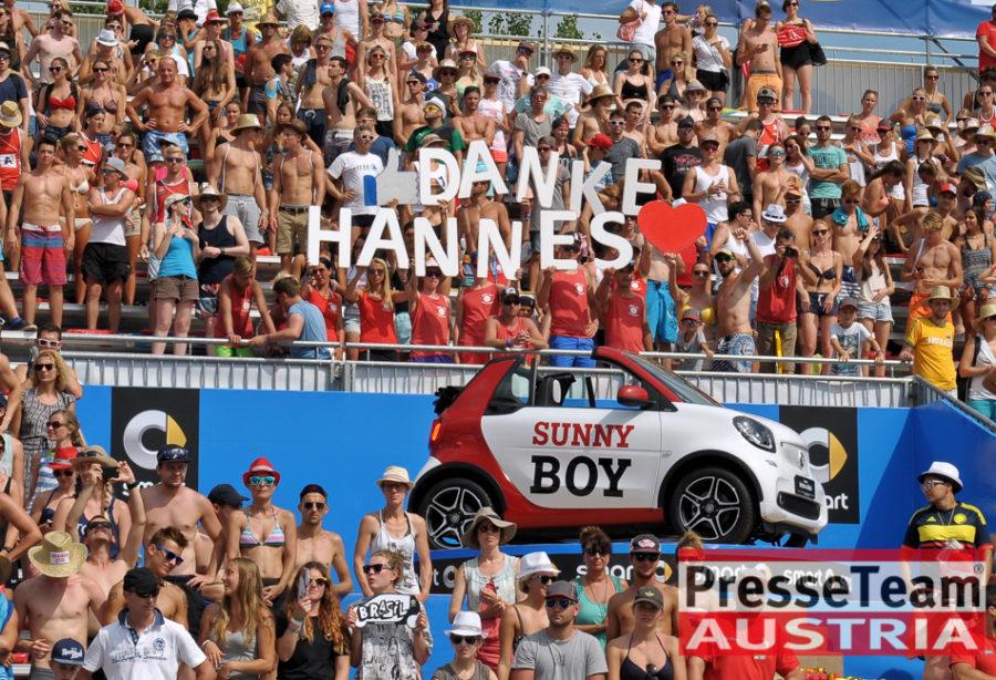 Hannes Jagerhofer Beach - Die Beach Volleyball Weltmeisterschaften 2017 in Wien