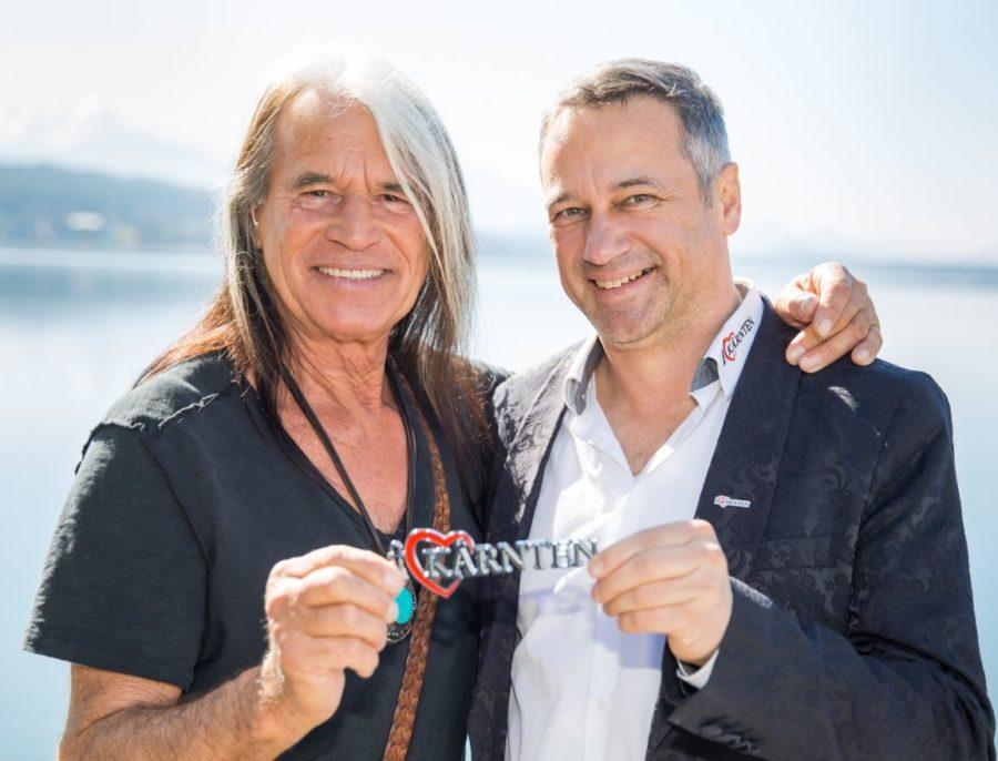 Sänger Waterloo mit Robert Graf - Waterloo Sänger als Kärnten Botschafter