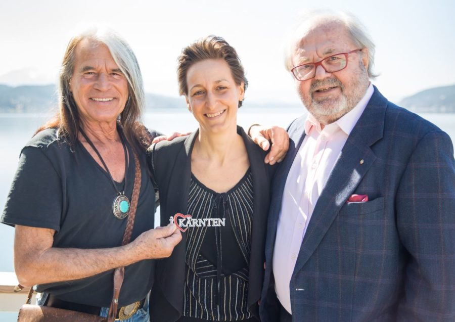 Waterloo Heidi Schaller Frömmel - Waterloo Sänger als Kärnten Botschafter