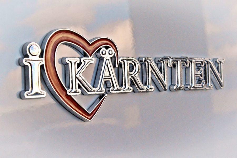 I Love Kärnten Aufkleber
