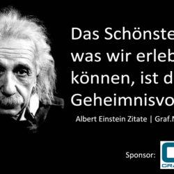 Sprüche von Albert Einstein