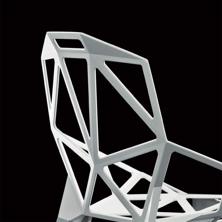 One Magis Weiss - Magis Chair One Stapelstuhl by Graf News