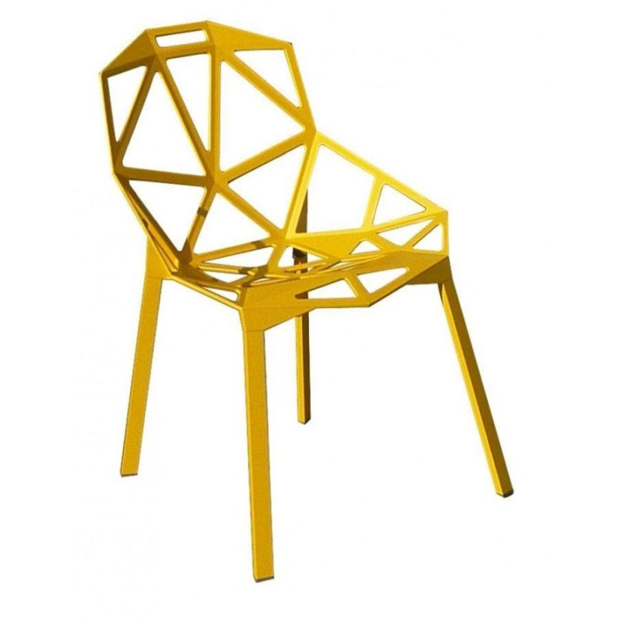One Stuhl von magis gelb - Magis Chair One Stapelstuhl by Graf News