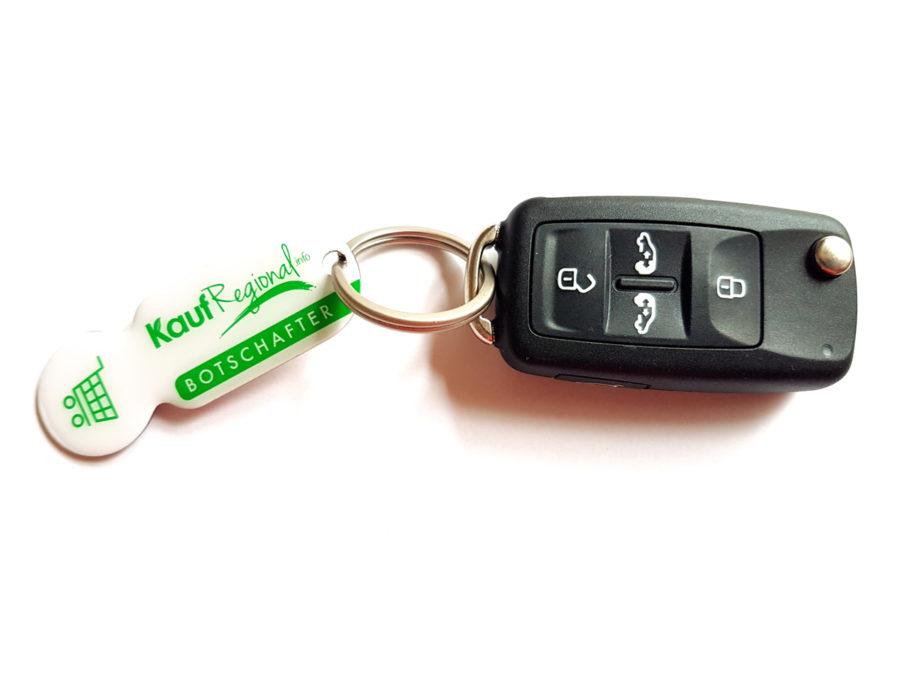 Schlüsselanhänger mit Chip - Ohne Münze! SO entsperrst du ganz einfach den Einkaufswagen