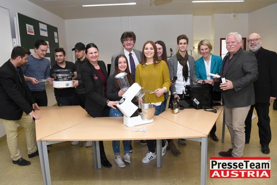 WKBS11 WKO Kärnten - Elektrogeräte in Berufsschulen: Ausbildung wird weiter verbessert