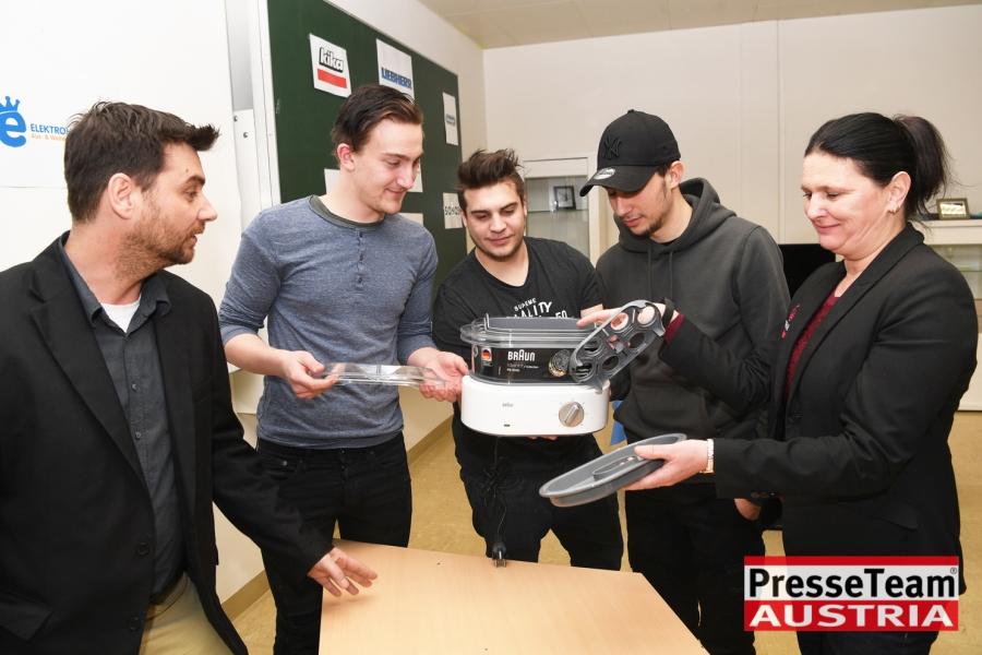 WKBS13 WKO Kärnten - Elektrogeräte in Berufsschulen: Ausbildung wird weiter verbessert