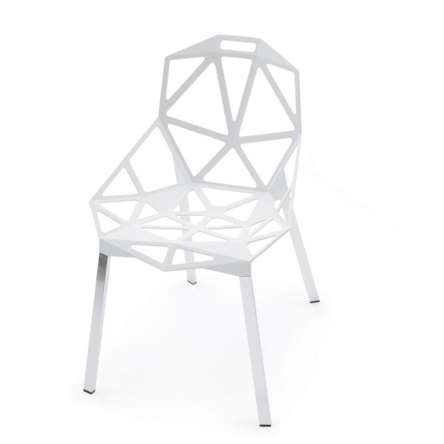 chair one weiss frei - Magis Chair One Stapelstuhl by Graf News