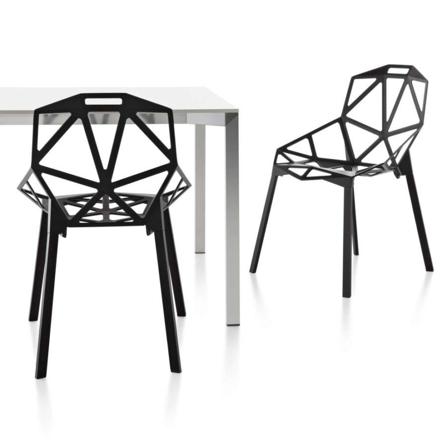 esstisch stühle modern one - Magis Chair One Stapelstuhl by Graf News