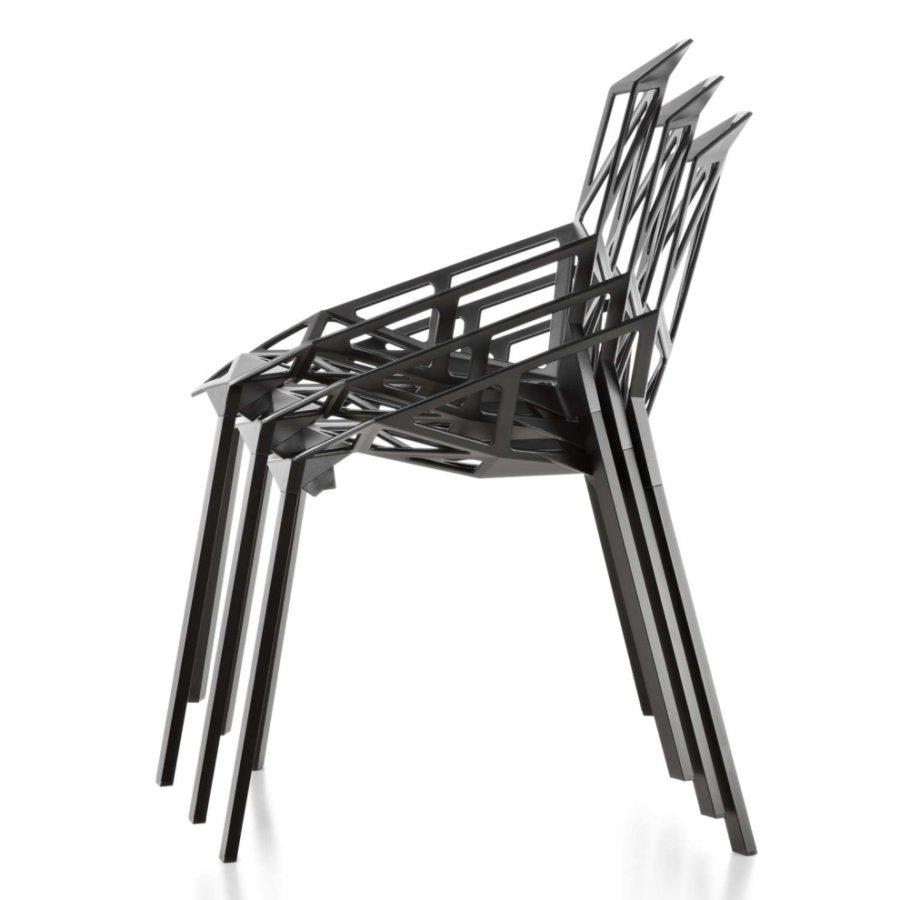 stappelbare designer sessel - Magis Chair One Stapelstuhl by Graf News