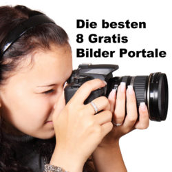 kostenlosen Fotodatenbanken