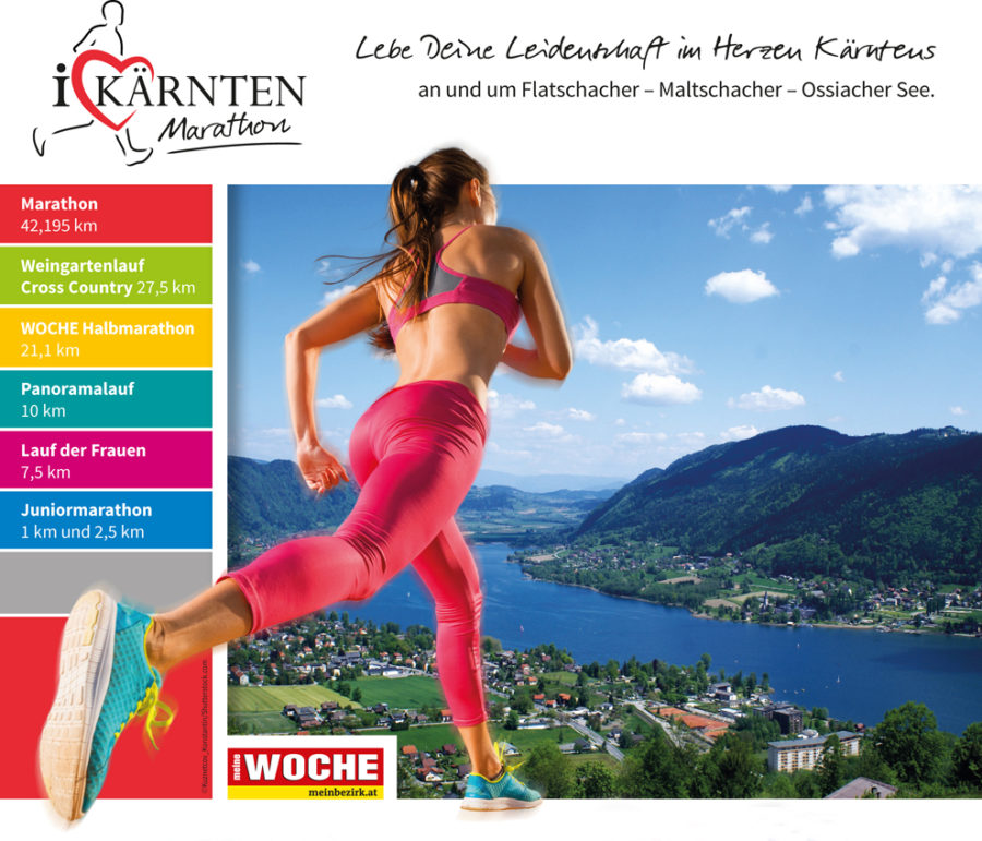 Kärnten Marathon Carinthia - I Love Kärnten Marathon