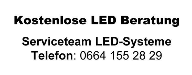 Kostenlose LED Beratung 750x295 - 30% LED Förderung: Förderungen für LED-Lampen