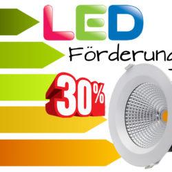 LED Förderungen