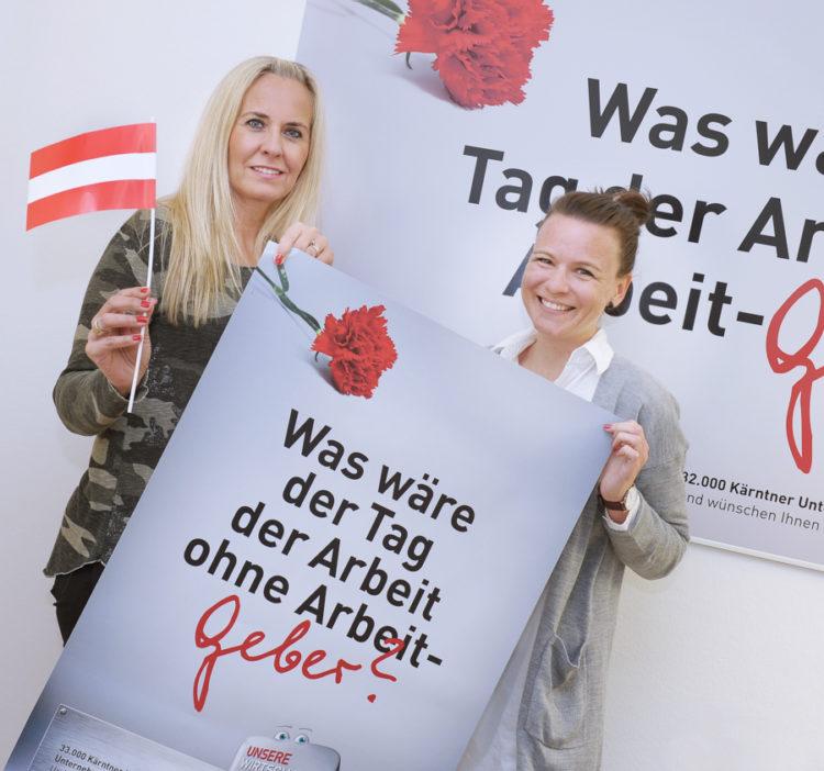 """Ulli Neureiter Tag der Arbeitgeber 750x702 - """"Kärntens Unternehmer bewahrten uns vor Totalausfall"""""""