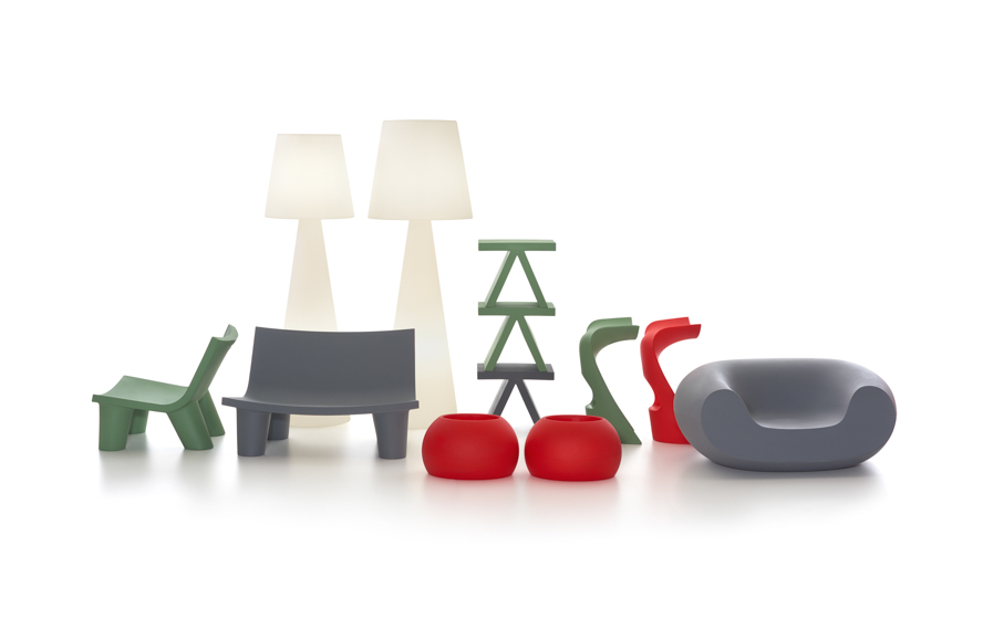 slide lampen THE ICONS SCENARIO - SLIDE Design News aus Milano - moderne Gartenmöbel