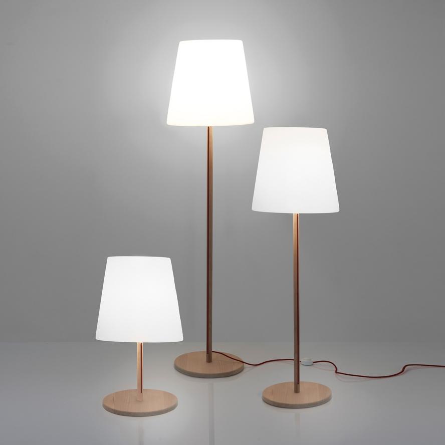slide lampen slide ali baba wood floor lamp 1 - SLIDE Design News aus Milano - moderne Gartenmöbel