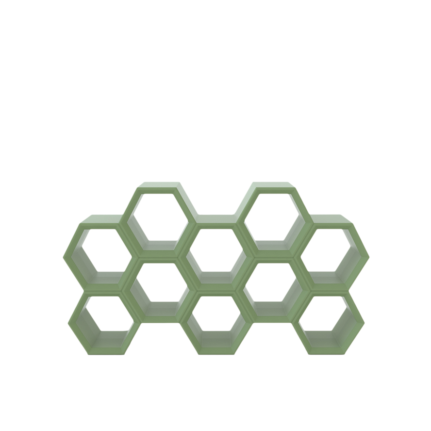 slide lampen slide hexa taeke halma bookcase - SLIDE Design News aus Milano - moderne Gartenmöbel