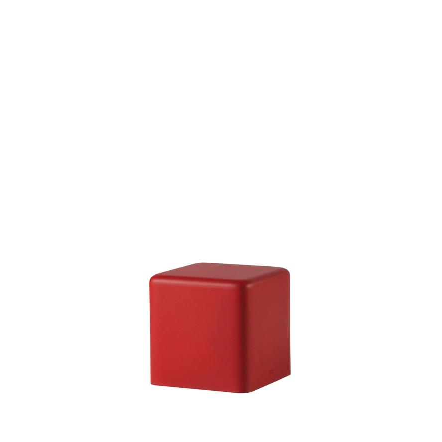 slide lampen slide soft cubo stool red - SLIDE Design News aus Milano - moderne Gartenmöbel