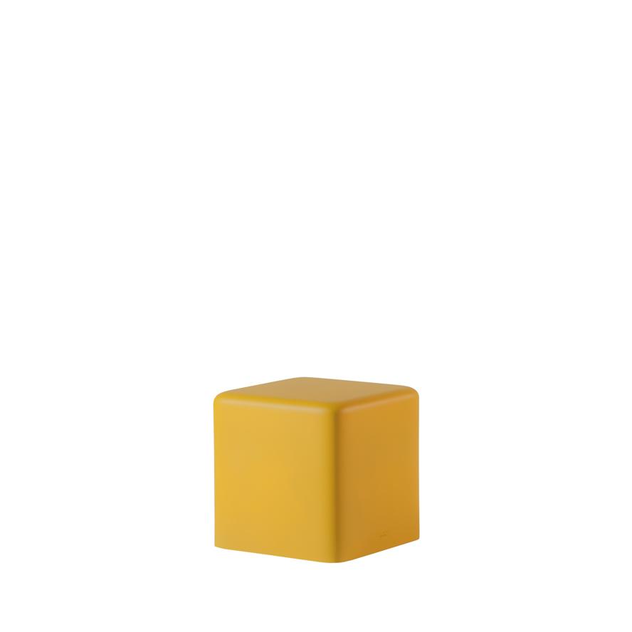 slide lampen slide soft cubo stool yellow - SLIDE Design News aus Milano - moderne Gartenmöbel