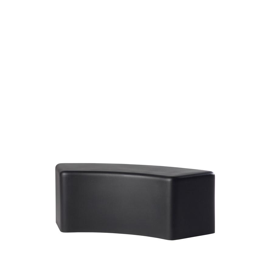 slide lampen slide soft snake bench black - SLIDE Design News aus Milano - moderne Gartenmöbel