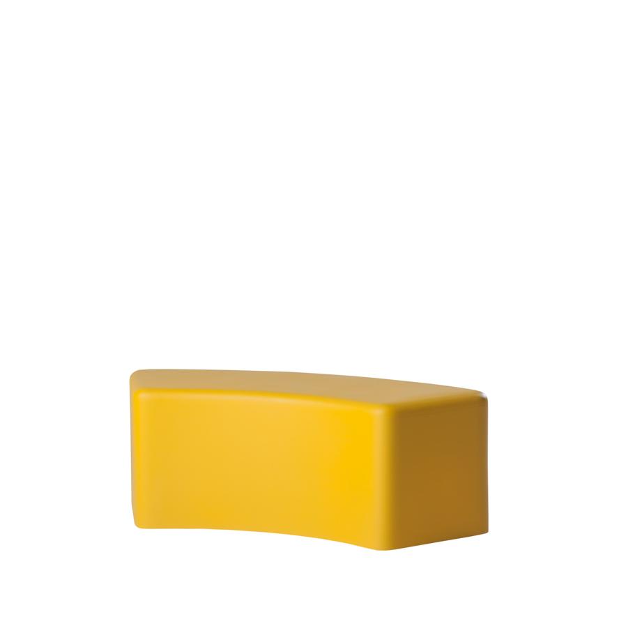 slide lampen slide soft snake bench yellow - SLIDE Design News aus Milano - moderne Gartenmöbel